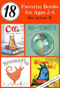 favorite letter b books