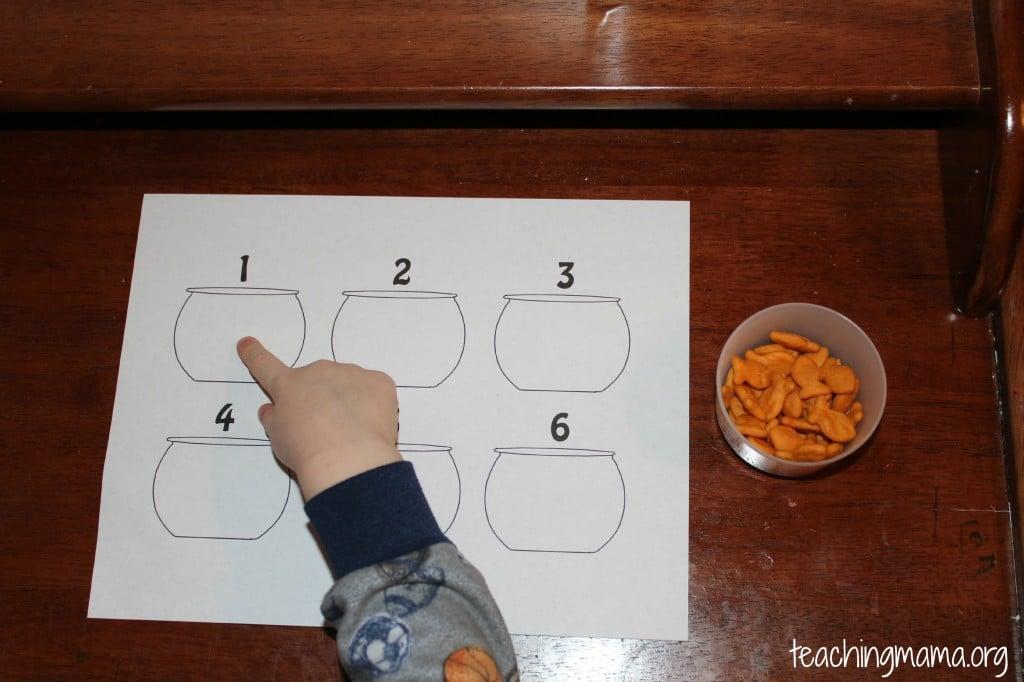 counting goldfish