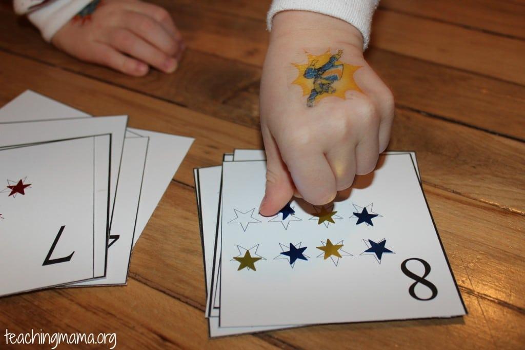 counting stars printable