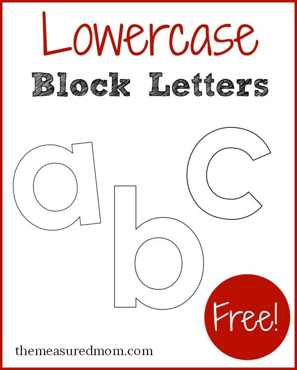 letters ? I use them with my preschoolers when introducing new letters ...