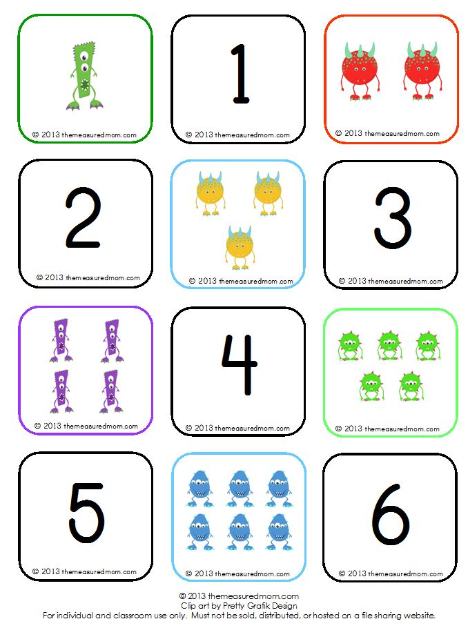 monster memory counting