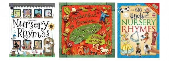 nursery rhyme books for toddlers