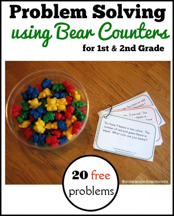 problem solving using bear counters