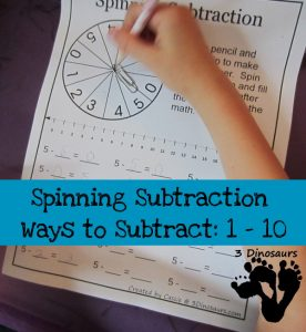 spinning subtraction