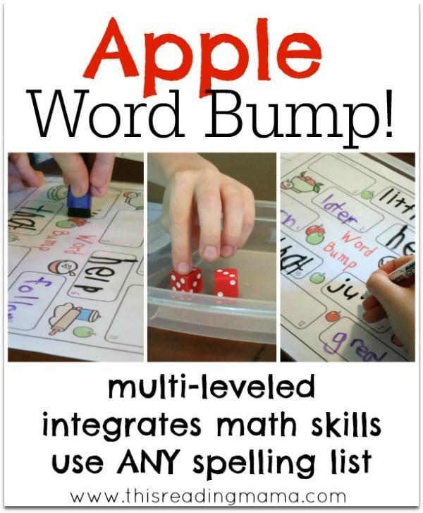 apple word bump