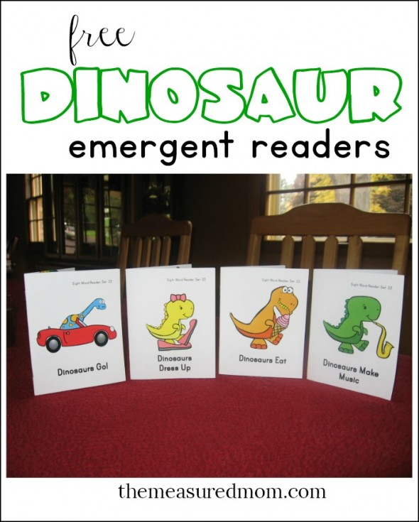 funny dinosaur emergent readers