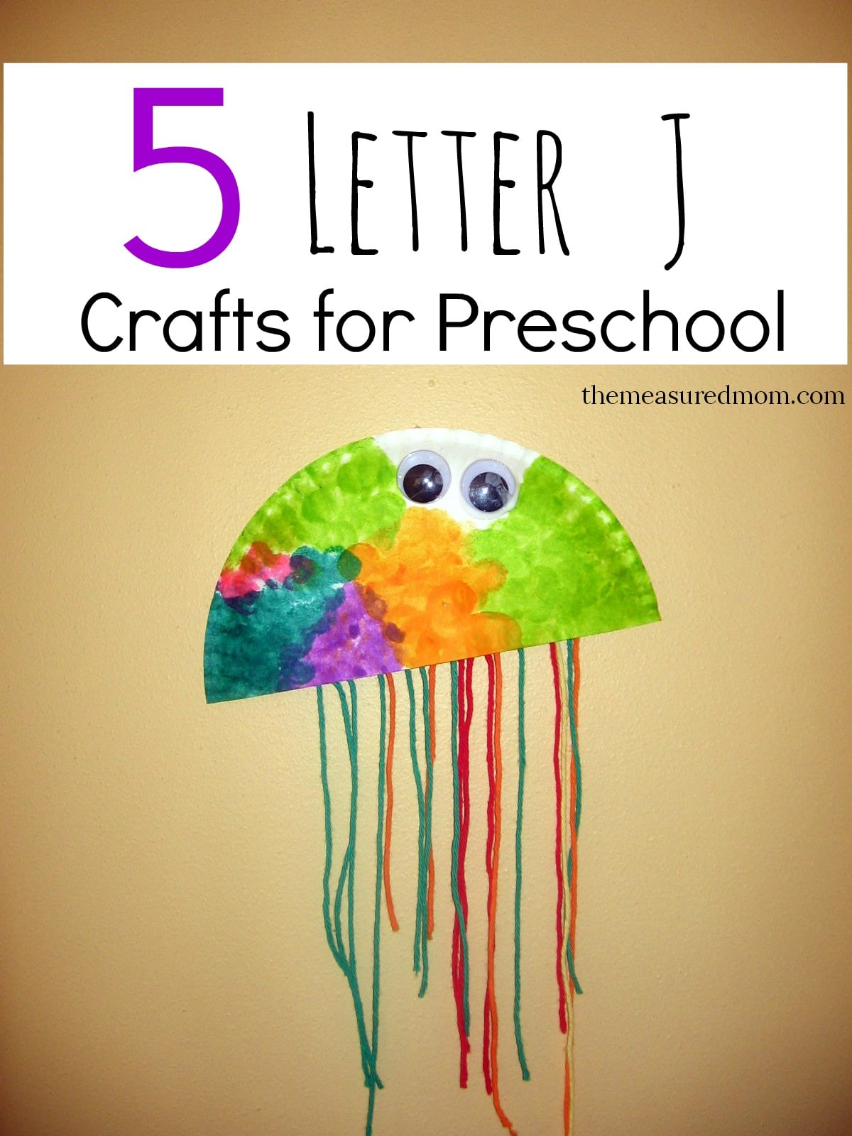 Letter J Crafts for Preschoolers