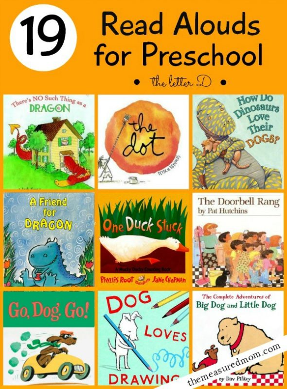 Check out this collection of 19 wonderful books for preschoolers! Your little one will ask for them again and again.