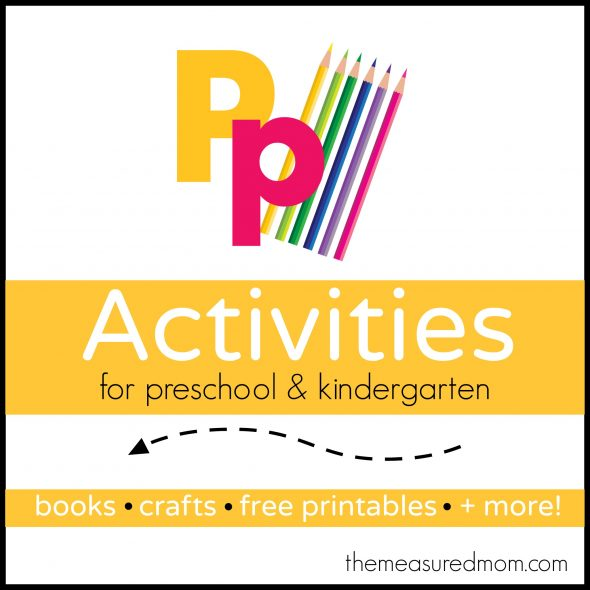 Are you looking for letter P activities to use with your preschooler ...
