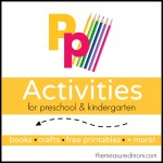 Letter P Activities the measured mom1 150x150 How to teach the alphabet to preschoolers