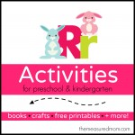 Letter R Activities the measured mom1 150x150 How to teach the alphabet to preschoolers