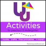 Letter U Activities the measured mom 150x150 How to teach the alphabet to preschoolers