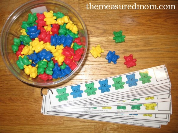 15 simple ways to teach patterns to preschoolers the measured mom