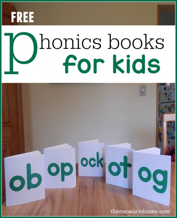 free phonics books for kids