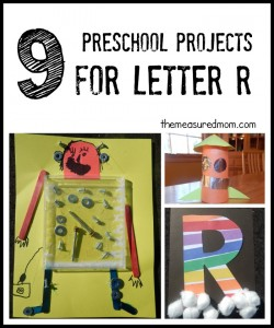 letter R crafts - the measured mom
