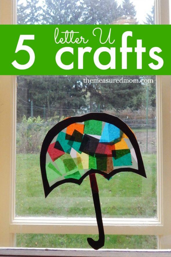 gallery for gt letter u crafts pinterest