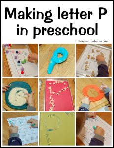 Creative ways to write letter P