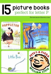 picture books for letter P