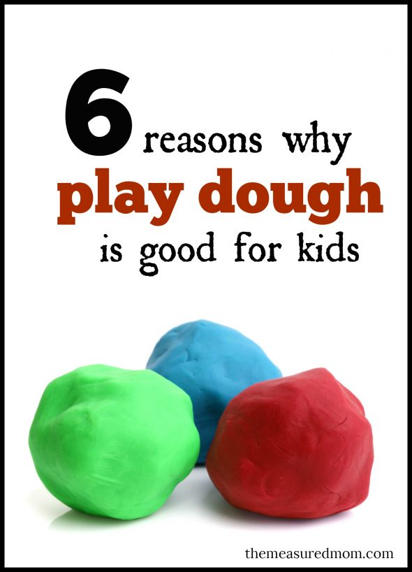 Yeah, there's the mess.  But play dough activities are so good for kids.  Especially because of #6!