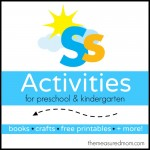 Letter S Activities the measured mom 150x150 How to teach the alphabet to preschoolers