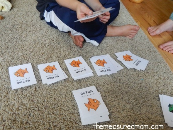 R controlled vowels go fish the measured mom for How do you play go fish card game