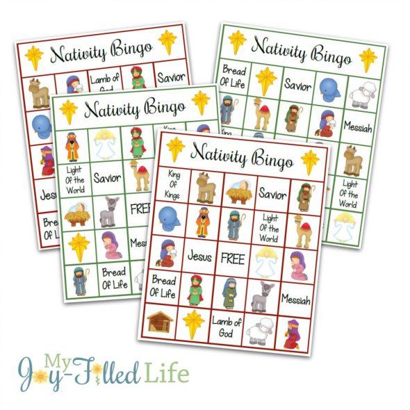 So many printable Christmas games for kids!