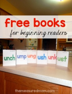 free phonics books for beginning readers