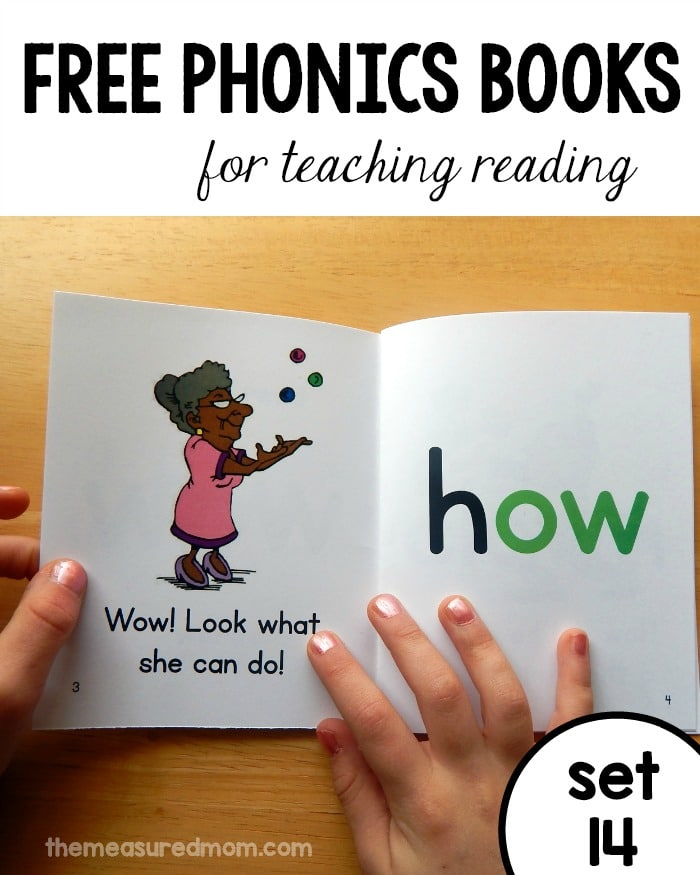 Big set of free phonics books! (aw words and more) - The ...