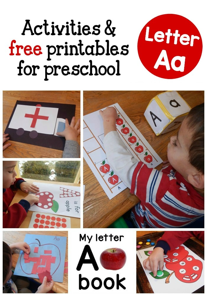 letter a ideas for preschool a peek at our week letter a activities the measured 22689 | letter A activities for letter of the week1