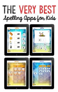very best spelling apps for kids