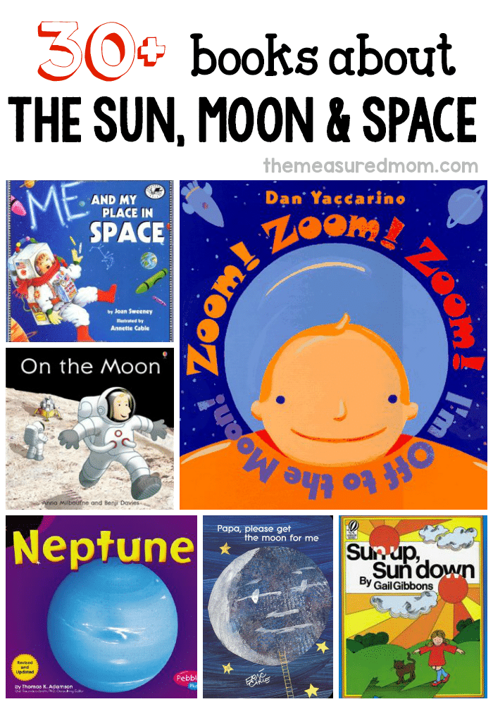 30 books about space - Book For Kindergarten