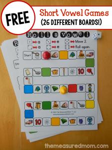 free short vowel games