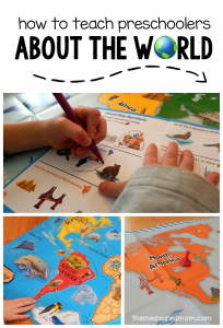 how to teach preschoolers about the world