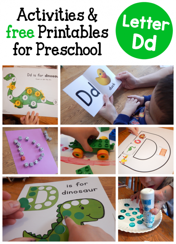 Letter D Activities for Preschool - The Measured Mom