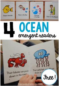 ocean emergent readers