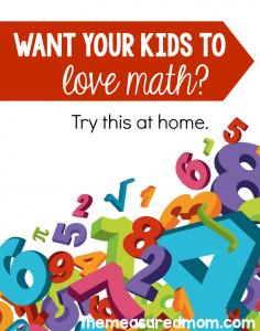 want kids to love math grades K-2