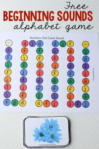 beginning sounds alphabet game