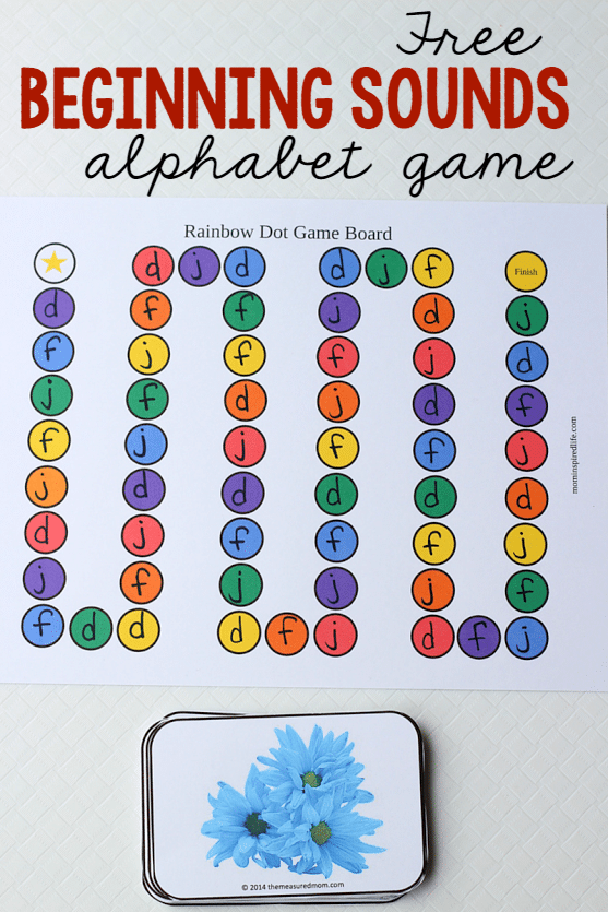 This letters and sounds game is a fun and effective way to practice ...