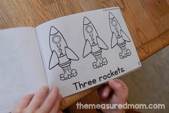 Looking for emergent readers about space? Get three books in three different levels. They're perfect for your students to read and color!