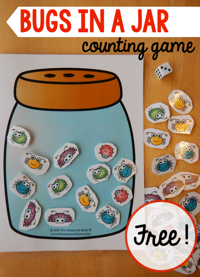 online math games for preschoolers a math for a preschool insect theme the measured 378