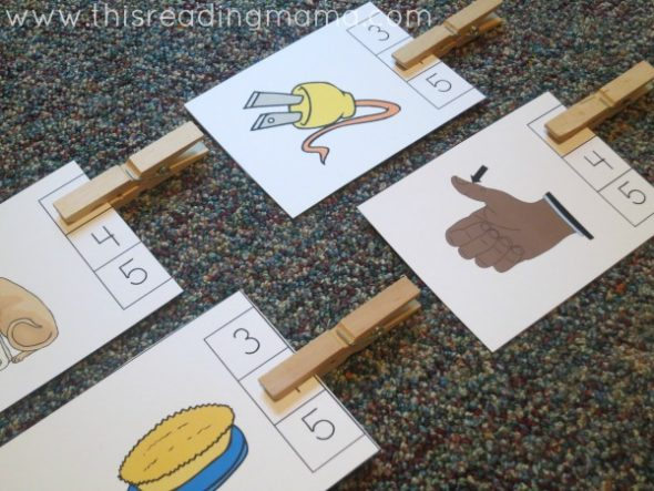 These car games for preschoolers are perfect for developing phonological awareness. LOVE!