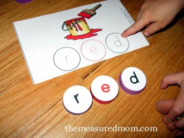 170 Short Vowel Spelling Mats The Measured Mom