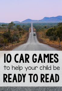 ready to read car games