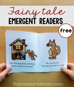 Fairy Tale emergent readers set 2