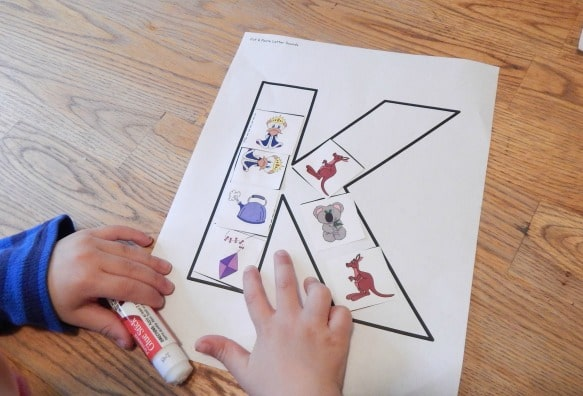 Letter K activities for preschool - The Measured Mom