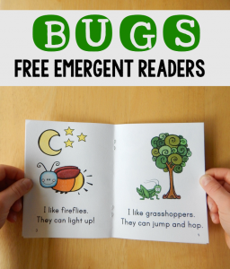 free emergent readers about bugs