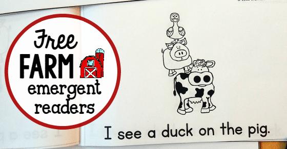 Free farm animal books for preschoolers - The Measured Mom