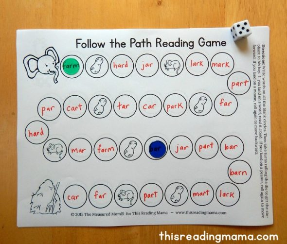 free reading game sample