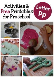 Letter P Activities for Preschool