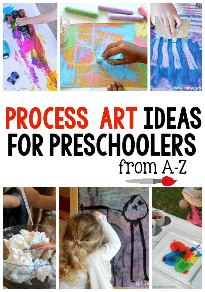 preschool art project ideas a z process ideas for preschoolers the measured 886